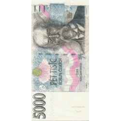 Bankovka 5000 korun 33x33