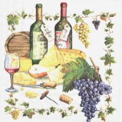 Víno a sýr 33x33