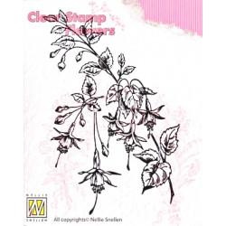 Transp.razítko - Fuchsie (Nellie Snellen)