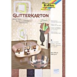 Glitter karton - sada Classic