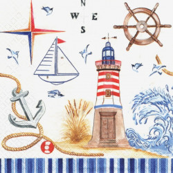 Mořské motivy 33x33