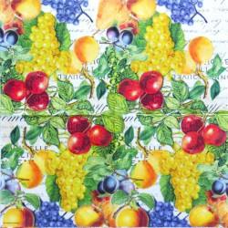 Podzimní ovoce 33x33