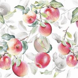 Čerstvá jablka 33x33