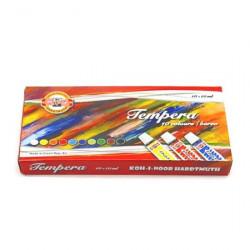 Temperové barvy 10x10ml Koh-i-noor