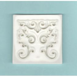 Silikonová forma - pět ornamentů