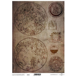 Pergamen pro scrapbook 112g - souhvězdí