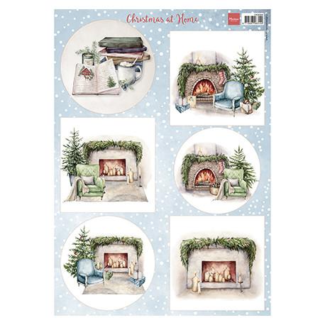 Papír A4 Christmas at home (MD)