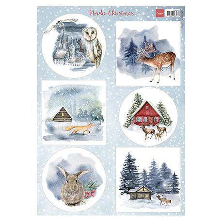 Papír A4 Nordic Christmas (MD)