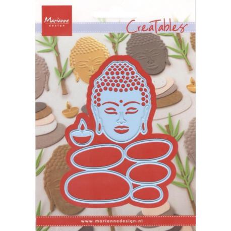Vyřezávací šablony - Buddha a balanční kameny (MD)