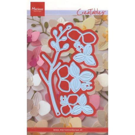 Vyřezávací šablony - Orchidej (MD)