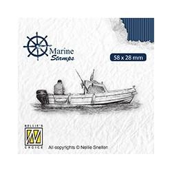 Transp.razítko Námořní - loďka (Nellie´s Choice)