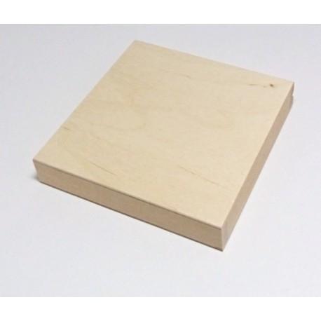 Dřevěná krabička na CD 14x14x2,5