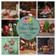 Sada kartiček 9x9cm - Vintage Christmas (Dixi Craft)