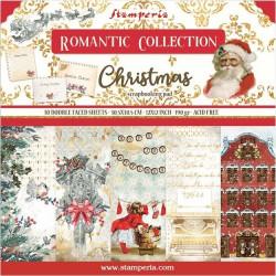Sada papírů 30,5x30,5 190g Romantic Christmas