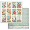 Christmas Patchwork, kartičky 30,5x30,5 scrapbook