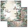 Romantic Christmas, ptáčci 30,5x30,5 scrapbook