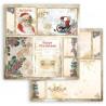 Romantic Christmas, Santa 30,5x30,5 scrapbook