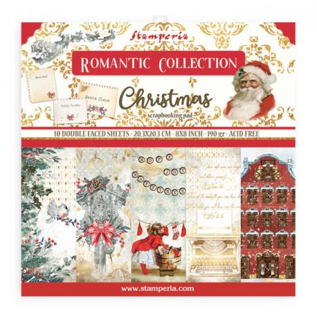 Sada papírů 20,3x20,3 190g Romantic Christmas