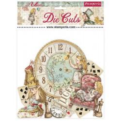 Sada kartonových výseků Alice (DFLDC46)