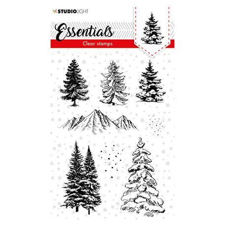 Transp.razítka - Christmas Trees Essentials nr.93 (SL)