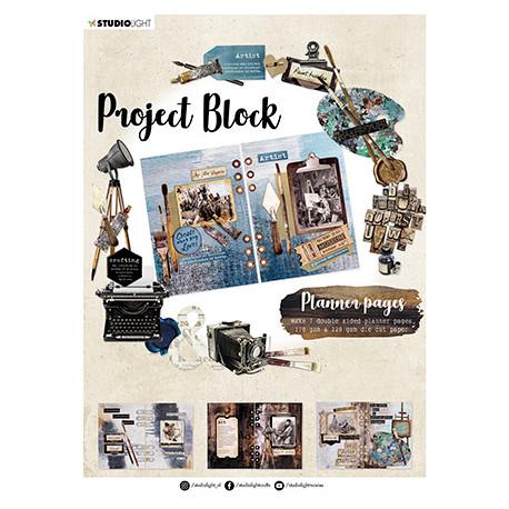 Project Block - Artist's Atelier Essentials nr.03, vel.A4 (SL)