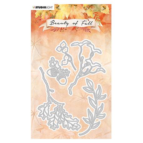 Vyřezávací šablony - Autumn leaves Beauty of Fall nr.57 (SL)
