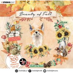 3D blok s výseky 15x15 - Beauty of Fall nr.09 (SL)