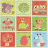 Dětské motivy ve čtvercích 25x25