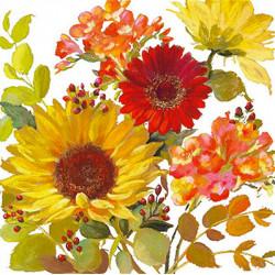 Letní květy 33x33