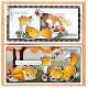 Vyřezávací šablony a razítka - Lišky (MD)