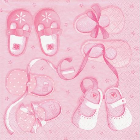 Dětské botičky, růžový 33x33