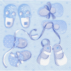 Dětské botičky, modrý 33x33