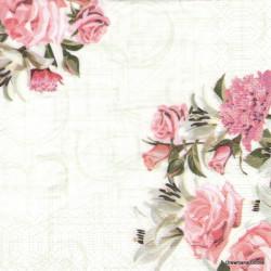 Růže a písmena 33x33