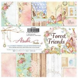 Sada papírů 15,2x15,2 Forest Friends (Asuka Studio)