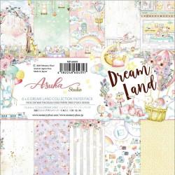 Sada papírů 15,2x15,2 Dreamland (Asuka Studio)
