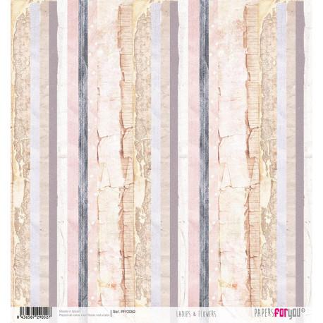 Papír rýžový 30x32 Barevné dřevo