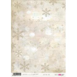 Papír rýžový A4 Vánoční čas