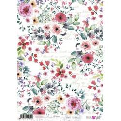 Papír rýžový A4 Festival květů