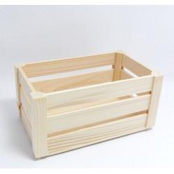 Dřevěná bednička z destiček malá