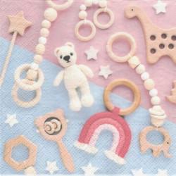 Hračky pro miminko 33x33