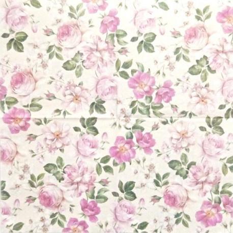 Různé druhy růží 33x33