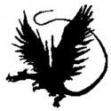 Enkaustické razítko Drak - levý