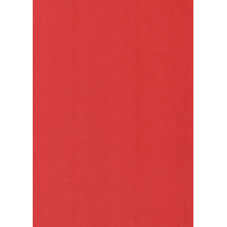 Barevný karton A4, 180g červená