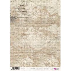 Papír rýžový A4 Stará zeď
