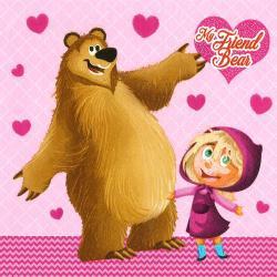 Máša a medvěd 33x33