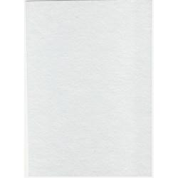 Filc bílý A4 180g, 1 list