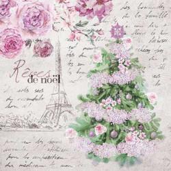 Vánoční snění v Paříži 33x33