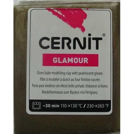 Cernit 56g - bronzová (metalická)