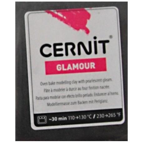Cernit 56g - černá metalická