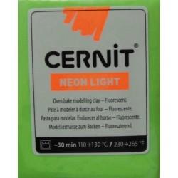 Cernit 56g - neonově zelená
